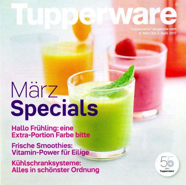 Jetzt aber – Die März-Aktion von Tupperware