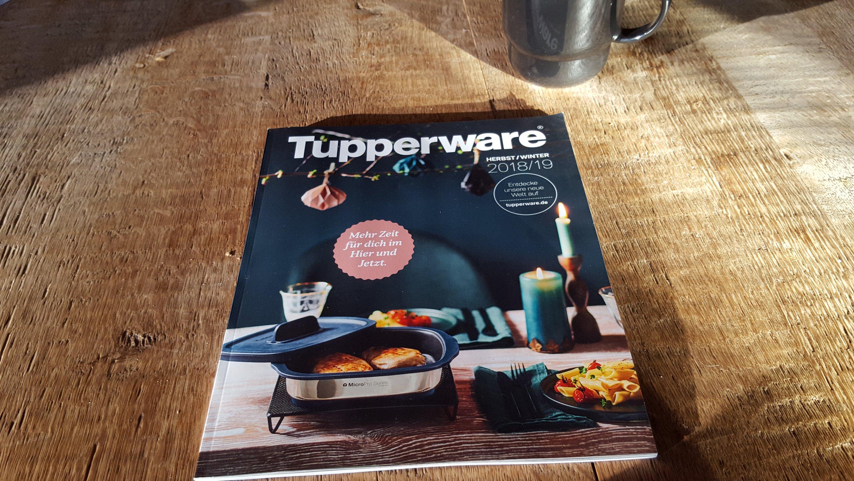 GoodBye und der neue Tupperware-Katalog Herbst/Winter 2018